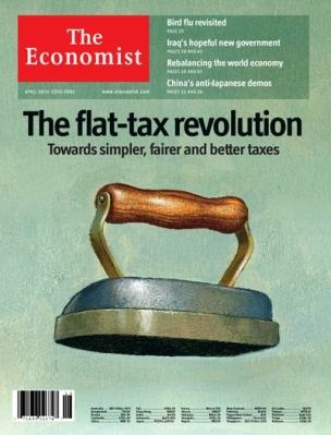 The Economist cover from April 16th 2005.