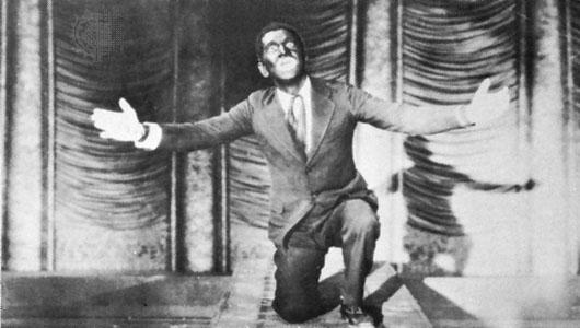 Bing Crosby Blackface Blackface (1750- ) is where an