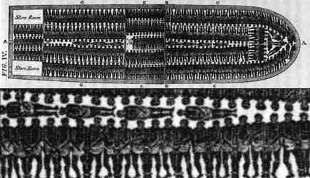 Image result for slave trade ship