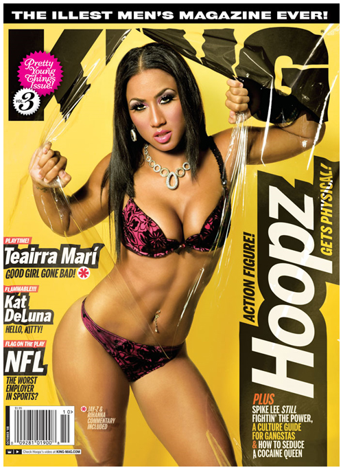 The buffie body centerfolds king models reports magazine