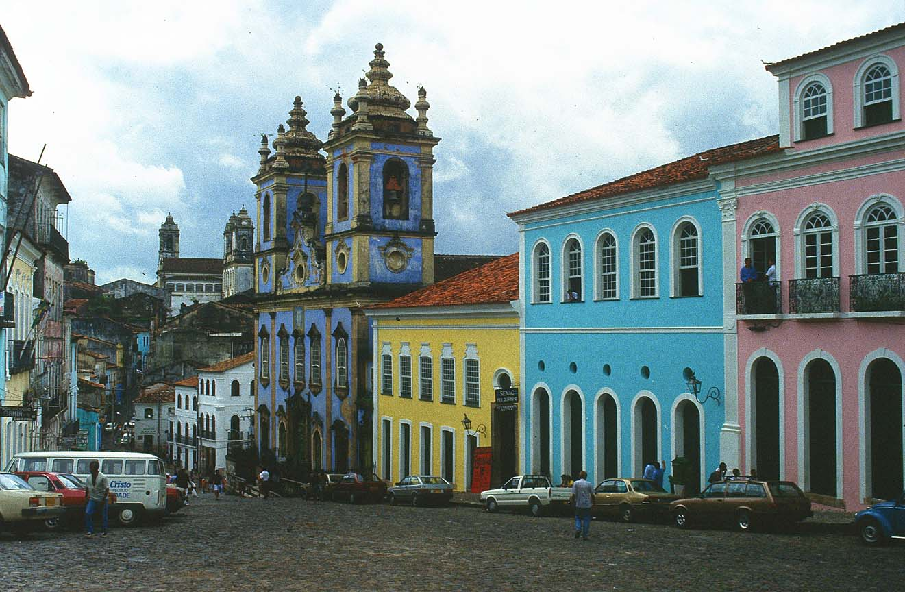 Baroque churches of san salvador da bahia brazil in the for Da architecture