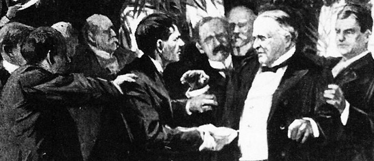 an analysis of the death of president william mckinley who was shot President william mckinley gave a speech at the pan american exposition in buffalo, new york, on september 5, 1901 the next day, while attending a reception, an anarchist named leon f czolgosz .