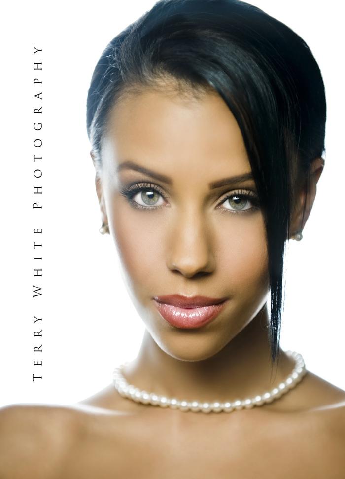 Beautiful Black Women with Green Eyes