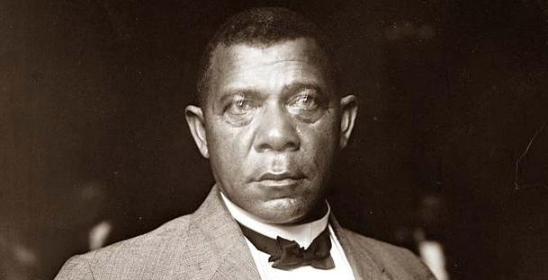 Booker T. Washington (1856-1915) was a black American leader, teacher,