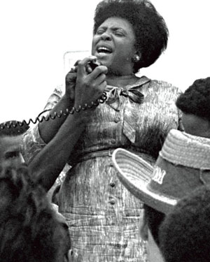 This speech changed the course of black voting rights in ... |Fannie Lou Hamer