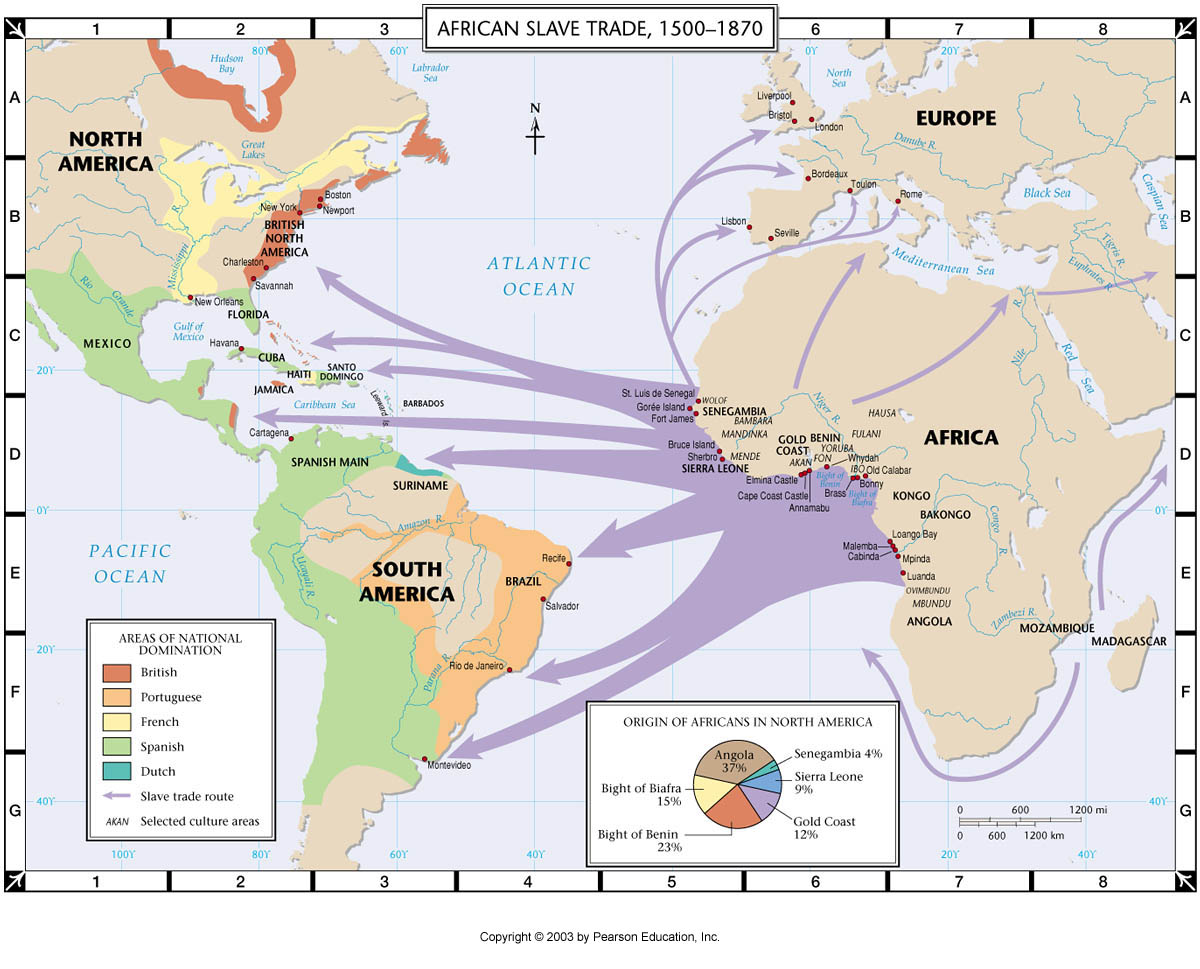 Ap us history period 1 review questions and discussion trans atlantic trade route gumiabroncs Gallery