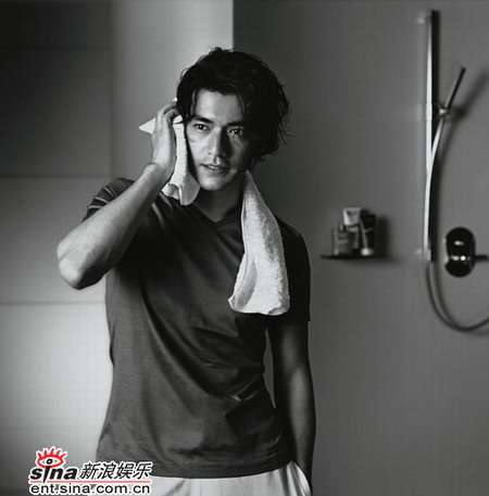 Takeshi Kaneshiro (1973- ) is a Taiwanes actor who is one-eighth