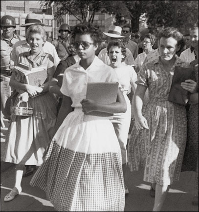 Little Rock school desegregation, 1957