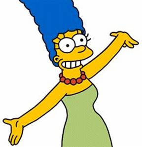 Photograph of Marge Simpson