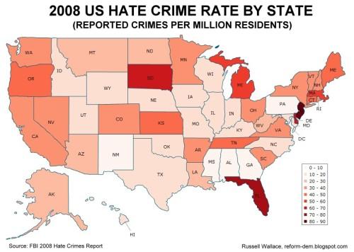 from Joshua adjudicated hate crimes against gays statistics