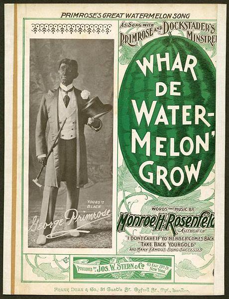 Px Whar De Watermelon Grow