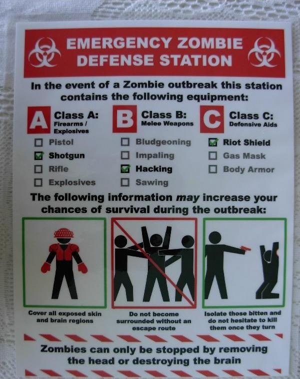 Good Morning Zombie Tips : Zombie apocalypse abagond