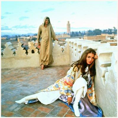 Talitha-Getty-in-Marrakec