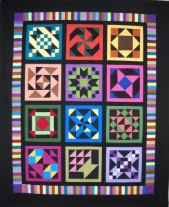 Wanda's Quilt of Many Colors 2011