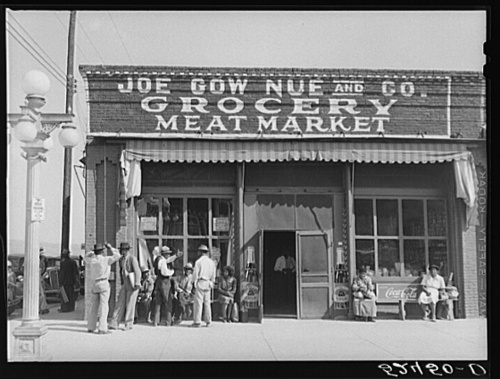 Joe Gow Nue Grocery Store, Greenville, Mississippi