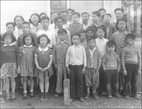 Segregated Chinese school - Bolivar County, Mississippi (1938)