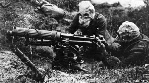 the machine gunners essay