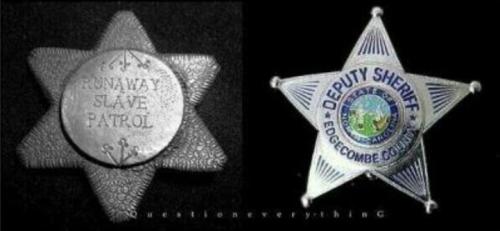 slave-patrol-badge-police-badge