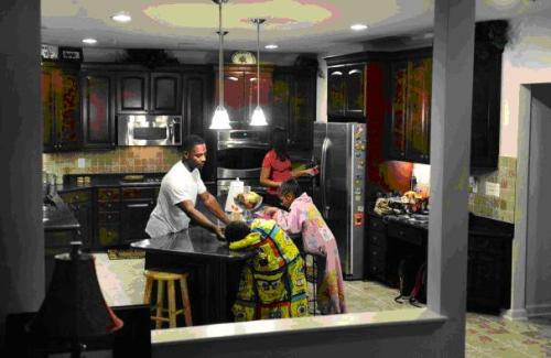 PG County home kitchen