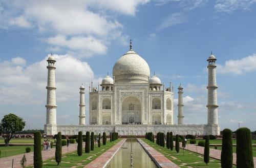 Taj Mahal, India, 1600s
