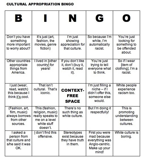 cultural-appropriation-bingo