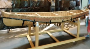 3. Iroquoian Birch Bark Canoe - National Museum of the American Indian