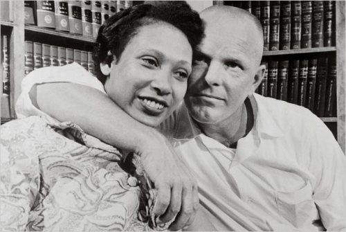 6. Mildred Loving identified as part Rappahannock (pictured here with her husband Richard)