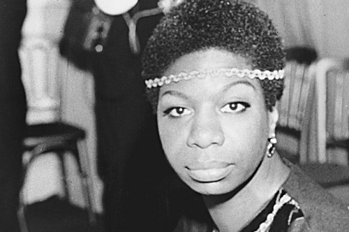 Jazz singer Nina Simone is shown in London on Dec. 5, 1968, photo. Simone's deep, raspy, forceful voice made her a unique figure in jazz and later helped define the civil rights movement. (AP Photo)