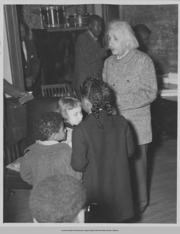 Image result for einstein WITH BLACK CHILDREN